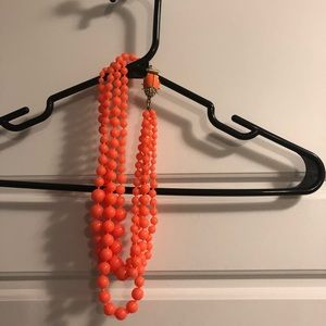 J. Crew Jewelry - Pink beaded necklace